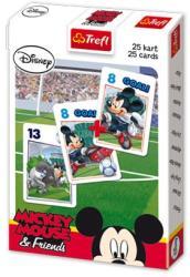 Trefl Mickey egér focizik - Fekete Péter kártyajáték