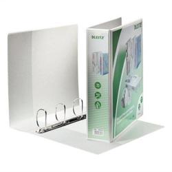 Leitz Maxi Gyűrűs dosszié panorámás 4 gyűrű 77 mm A4 PP fehér (E42870001)