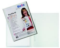 Biella Pro-file 2 Gyorsfűző panorámás A4 PP átlátszó (D4402)