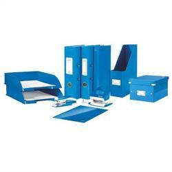 Leitz Wow Gyűrűs dosszié 4 gyűrű 40 mm A4 karton kék (E42420036)
