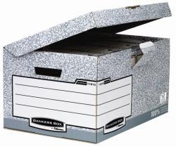 Fellowes Bankers Box® Csapófedeles archiváló konténer szürke (IFW11815BB)