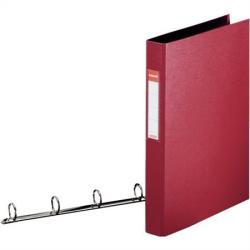 Esselte Standard Gyűrűs könyv 4 gyűrű 42 mm A4 PP/PP bordó (E14464)
