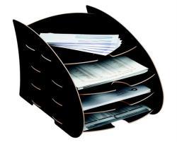 Fellowes Earth Series Irattálca 4 részes karton fekete (IFW80106)