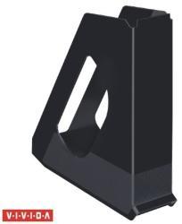 Esselte Europost Vivida Iratpapucs 68 mm műanyag fekete
