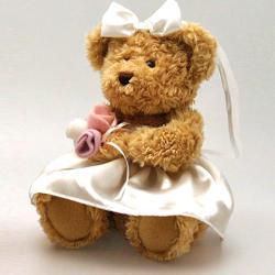 Keel Toys Menyasszony maci 20cm