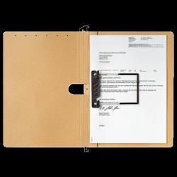 Leitz Alpha Duo Függõmappa A4 karton natúr (E29890000)