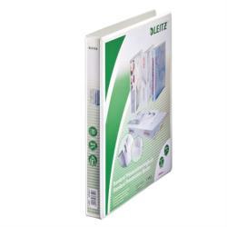 Leitz Maxi Gyűrűs könyv panorámás 2 gyűrű 38 mm A4 PP fehér (42780001)