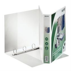 Leitz Maxi Gyűrűs könyv panorámás 4 gyűrű 51 mm A4 PP fehér (42850001)