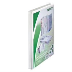 Leitz Maxi Gyűrűs könyv panorámás 2 gyűrű 30 mm A4 PP fehér (42770001)
