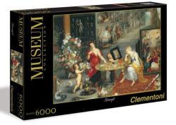 Clementoni Bruegel: A látvány és az illat allegóriája 6000 db-os (365159)