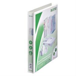 Leitz Maxi Gyűrűs könyv panorámás 4 gyűrű 44 mm A4 PP fehér (42840001)