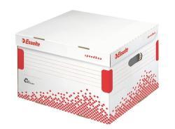 Esselte Speedbox Archiváló konténer M méret karton fehér (623912)