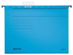 Leitz Alpha Standard Függõmappa A4 karton kék (19850035)