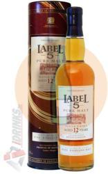 LABEL 5 12 Years Pure Malt Whiskey 0,7L 40%