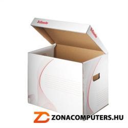 Esselte Standard Archiváló konténer levehető tető karton fehér (E128911)