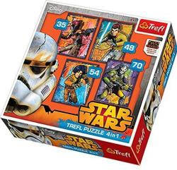 Trefl Star Wars Rebels 4 az 1-ben (34231)