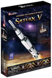 CubicFun Saturn V holdrakéta 3D 68 db-os (P653)