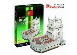 CubicFun Belem torony 3D puzzle 46 db-os