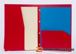 Rexel Advance Irattartó mappa lefűzhető 4 részes A4 PP piros (2103758)