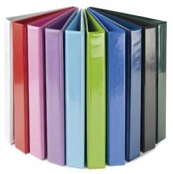 Panta Plast Gyűrűs könyv panorámás 4 gyűrű 40 mm A4 PP/karton rózsaszín (316002429)