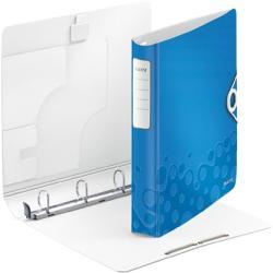 Leitz Active Wow Gyűrűs könyv 4 gyűrű 52 mm A4 PP kék (42400036)