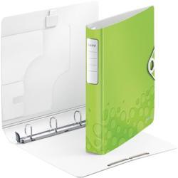 Leitz Active Wow Gyűrűs könyv 4 gyűrű 52 mm A4 PP zöld (42400064)