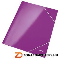 Leitz Wow Gumis mappa 15 mm A4 karton lila (39820062)