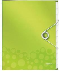 Leitz Wow Előrendező 12 részes A4 műanyag zöld (46340064)