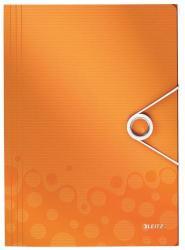 Leitz Wow Gumis mappa A4 PP narancssárga (45990044)