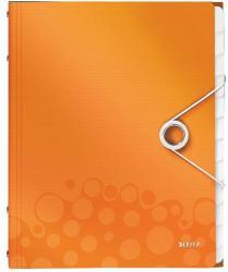 Leitz Wow Előrendező 12 részes A4 műanyag narancssárga (46340044)
