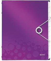 Leitz Wow Előrendező 12 részes A4 műanyag lila (46340062)