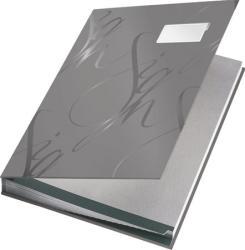 Leitz Design Aláírókönyv 18 részes A4 karton szürke (57450085)
