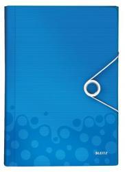 Leitz Wow Harmonika mappa 6 rekeszes A4 PP kék (45890036)