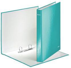 Leitz Wow Gyűrűs könyv 2 gyűrű 40 mm A4 Maxi karton jégkék (42410051)