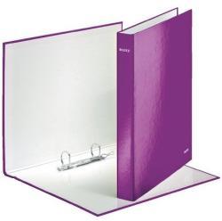 Leitz Wow Gyűrűs könyv 2 gyűrű 40 mm A4 Maxi karton lila (42410062)