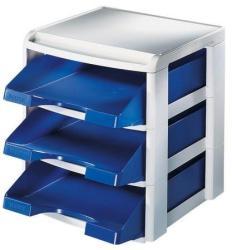 Leitz Plus Irattálca műanyag 3 fiókos kék (53270035)