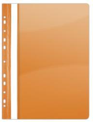 Donau Gyorsfűző lefűzhető A4 PVC narancssárga (1704N)