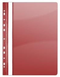DONAU Gyorsfűző lefűzhető A4 PVC piros (1704P)