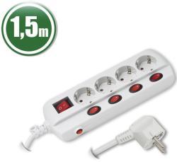 Delight 4 Plug Switch (20247)