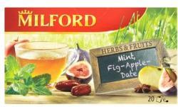 MILFORD Menta-füge-alma-datolya Tea 20 filter