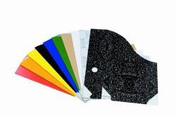 Fortuna Irattartó papucs papír fekete
