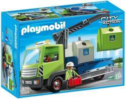 Playmobil Üveghulladék szállító teherautó konténerekkel (6109)
