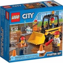 LEGO City - Bontási munkálatok kezdő készlet (60072)