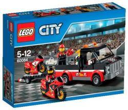 LEGO City - Versenymotor-szállító kamion (60084)