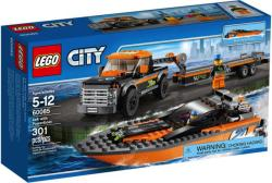 LEGO City - 4x4 with Powerboat (60085)