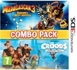 D3 Publisher Combo Pack: Madagascar 3 Europe's Most Wanted & The Croods Prehistoric Party (3DS)