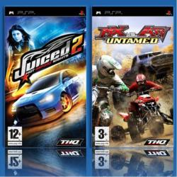 THQ Double Pack: MX vs ATV Untamed + Juiced 2 Hot Import Nights (PSP)