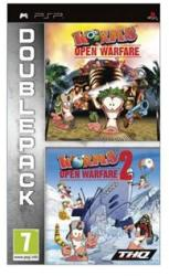 THQ Double Pack: Worms Open Warfare + Worms Open Warfare 2 (PSP)