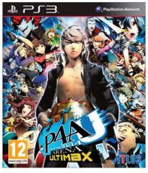 Atlus P4AU Persona 4 Arena Ultimax (PS3)
