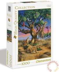 Clementoni Afrika vadvilága 1000 db-os (39233)